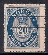 Norway 1883 -1884  Posthorn - Norvège