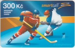 Czech Prepaid - Net Master - IC124. Ice Hockey 300; Ed. ? Ex.; Exp. 3/2006 - República Checa