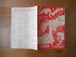 LA GUITARE A CHIQUITA  PAROLES DE MAURICE VANDAIR MUSIQUE DE HENRI BOURTAYRE 1944 - Partitions Musicales Anciennes