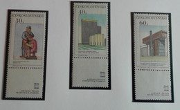 Tchécoslovaquie 1968 Prague Moderne 5 Values - Neuf Avec Gomme Originale - MUH - Ungebraucht