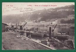 Lyon Dock Compagnie De Navigation 1906 : TRAIT VIOLET EN BAS Très Très Bon état : +2292/ - Autres