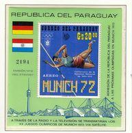 Paraguay 1970 / Olympic Games Munich 1972 / Athletics - Ete 1972: Munich