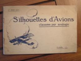 SILHOUETTES D AVIONS CLASSEES PAR ANALOGIE/ SPAD/ALBATROS /BREGUET / AVIATIK - Aviation