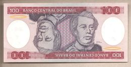 Brasile  - Banconota Non Circolata FdS Da 100 Cruzeiros P-198b - 1984 - Brazil