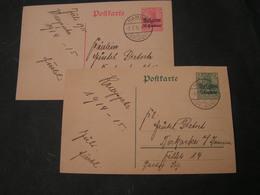 Belgien Ganzsachen Germania Stempel Namur 1915 - Besetzungen 1914-18