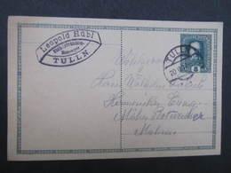 GANZSACHE Tulln - Mährisch Rothwasser Fa. Leopold Hübl 1917 Korrespondenzkarte   /// D*30102 - 1850-1918 Imperium