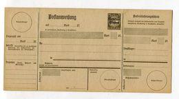 Bayern / 1919 / Postanweisung Mi. 107 (19) ** (03015) - Bavaria