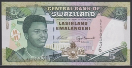 Swaziland 5 Emalangeni (ND 1995) UNC - Swaziland