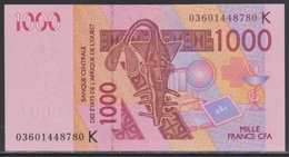 West Africa Senegal 1000 Francs 2003 UNC - West African States