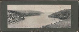 Mouth Of The Dart, Dartmouth, Devon, 1912 - Photochrom Panoramic Card - England