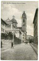 ITALIA : VOLTRI - VIA VITTORIO EMANUELE E CHIESA DI S. ERASMO - Genova (Genoa)