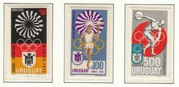 Uruguay / Olympic Games Munich 1972 / Torch - Sommer 1972: München