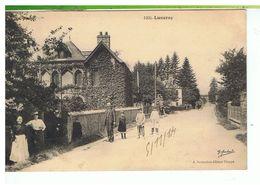 CPA-76-1914-LUNERAY-ANIMEE-NOMBREUX PERSONNAGES DEVANT-COLLECTION LE MARCHAND- - France