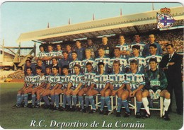 SPAIN ESPAÑA - CALENDAR POCKET - DEPORTIVO DE LA CORUÑA - 1997 - FUTEBOL FOOTBALL SOCCER - Formato Piccolo : 1991-00