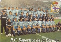 SPAIN ESPAÑA - CALENDAR POCKET - DEPORTIVO DE LA CORUÑA - 1998 - FUTEBOL FOOTBALL SOCCER - Formato Piccolo : 1991-00