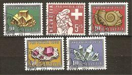 PRO PATRIA 1958 Série Complète Obl. 1er Jour En Belle Qualité SBK 20,- Voir Description - Pro Patria