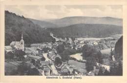 DEUTSCHLAND Allemagne ( Saxe Anhalt ) ALTENBRAK I. BODEDAL ( Harz ) - CPSM Sépia Format CPA - Germany - Altenbrak