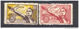 Indochine  :  Yv  284-85  (*)    Sport - Unused Stamps