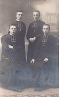 Fotokaart Carte Photo 4x Priester Pastoor 1918 (Photo Michel Van Loo Gand Gent) - Gent