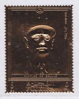 FUJEIRA AERIENS ** MNH Neuf Sans Charnière, 1 Valeur, TB (D5021) De Gaulle, Timbre Or - Fujeira