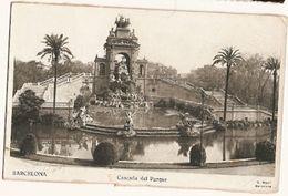 Spain & Circulated, Cascada Del Parque, Barcelona, Paus Francia 1951 (646) - Monuments