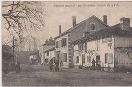 Sabres, Rue Bordelaise - Entrée De La Ville - - Sabres