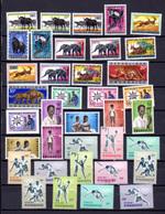 1964   Année 1964 Complète, 52 / 83**,  Cote 40 €, - Rwanda