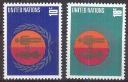UNO NEW YORK 1975 Mi-Nr. 281/82 ** MNH - New York -  VN Hauptquartier