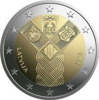 """Pièce  Commémorative 2 Euro  UNC  Lituanie 2018   """"  100 ème Anniversaire De L' Indépendance Des Etats Baltes """" - Lituanie"""