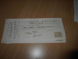 29 - Lettre De Change , Engrais De Toute Nature , NAVARRE , Masseube, Gers, 1905 - Lettres De Change