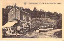 BELGIQUE Belgium ( Liège ) COMBLAIN AU PONT : Restaurant Des Grottes Friture -  CPA - ( Belgien België Belgio Bélgica ) - Comblain-au-Pont
