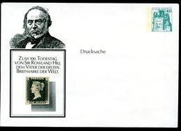 Bund PU110 B2/003c Privat-Umschlag ROWLAND HILL ** 1979 - Post