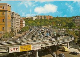 Spain & Circulated,  Glorieta Del Emperador Carlos V, Madrid, Castelo De Vide  Portugal 1971(210) - Monumenten