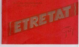 Etretat - Carnet De 12 CP ( Complet) - Etretat
