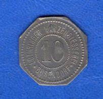 Bouzonville  10  Pf - Monetary / Of Necessity
