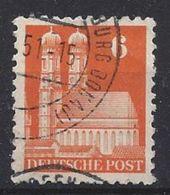 Germany 1948-52 Alliierte Besetzung  (o)  Mi.77 Wg W F - Zone Anglo-Américaine