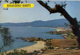 Halkidiki - Sarti - Grece - Formato Grande Non Viaggiata – E 4 - Grecia