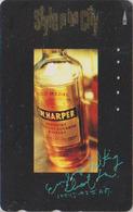 Télécarte Japon / 110-011 - ALCOOL - WHISKY BOURBON USA - I.W. HARPER - ALCOHOL Japan Phonecard - ALKOHOL TK - 908 - Food