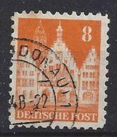 Germany 1948-52 Alliierte Besetzung  (o)  Mi.78 Wg W B - Zone Anglo-Américaine