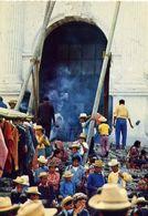 Mercato E Indigenes De Chichicastenango - Guatemala - Formato Grande Non Viaggiata – E 4 - Guatemala