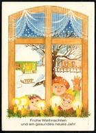 A8830 - Glückwunschkarte - Weihnachten - U. Pritzel - Planet DDR 1984 - Unclassified