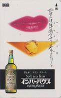 Télécarte Japon / 110-011 - ALCOOL - WHISKY - INVER HOUSE SCOTLAND - ALCOHOL Japan Phonecard - ALKOHOL TK - 909 - Lebensmittel