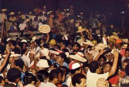 Haiti - Port Au Prince - Nuit Du Carnaval - Formato Grande Non Viaggiata – E 4 - Cartoline