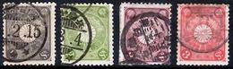 JAPAN 1899 Chrysanthemum Series 10 Values (Perf: 12) Used - Japan
