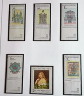 Tchécoslovaquie 1968  Old Prague Sights  5 Stamps  +1 Josef Manes - Neuf Avec Gomme Originale - MUH - Ungebraucht
