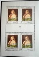 Tchécoslovaquie 1968  Josef Manes  Block  4 Stamp - Neuf Avec Gomme Originale - MUH - Ungebraucht