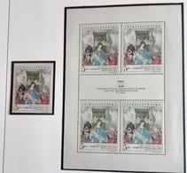 Tchécoslovaquie 1968  DURER  Block  4 Stamps + 1 Stamp - Neuf Avec Gomme Originale - MUH - Ungebraucht