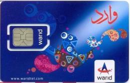 PAK-GSM : GWA08 Warid Blue  Alien (chip 1) USED - Pakistan