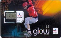 PAK-GSM : GWA10 Warid Glow Rollerskater (chip 1) USED - Pakistan