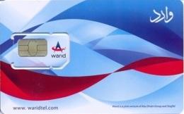 PAK-GSM : GWA14 Warid Blue Waves / Warid Prepaid USED - Pakistan